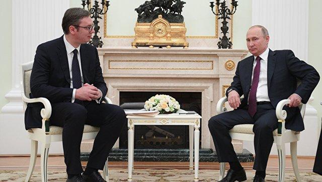 Вучић: Тражићу подршку од председника Путина на свим међународним форумима