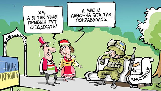 Кијев оптужио Москву да ствара напетост са Мађарима у Закарпатју