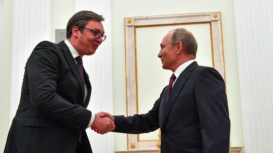 """РТ: Вучић надахнут након разговора са Путином, добио """"све што је тражио"""""""