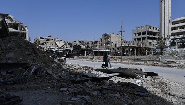 САД ће увести санкције руским и иранским компанијама које раде на обнови Сирије