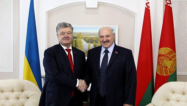 Порошенко: У потпуности верујем Лукашенку