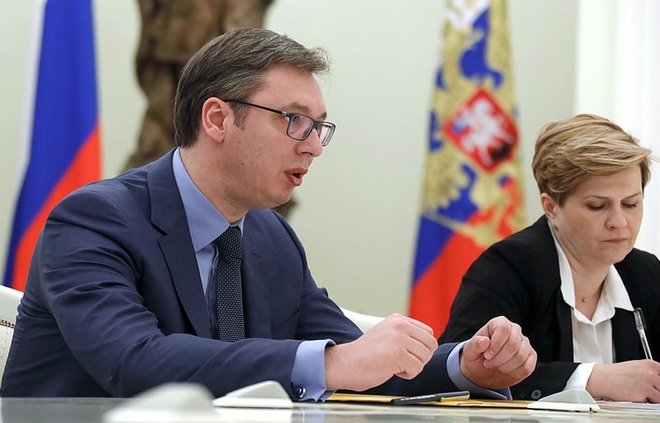 Вучић: Решавање проблема Косова и Метохије немогуће без учешћа Русије