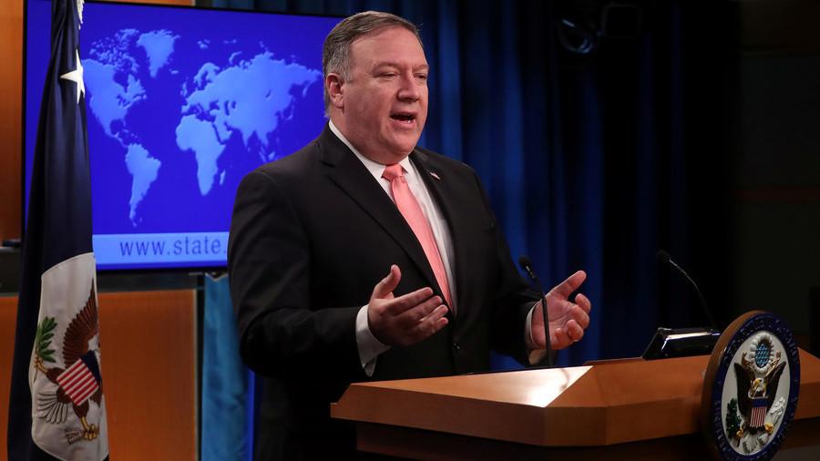 """РТ: Помпео обећао """"тешке и брзе"""" казне за оне који не поштују санкције према Ирану"""