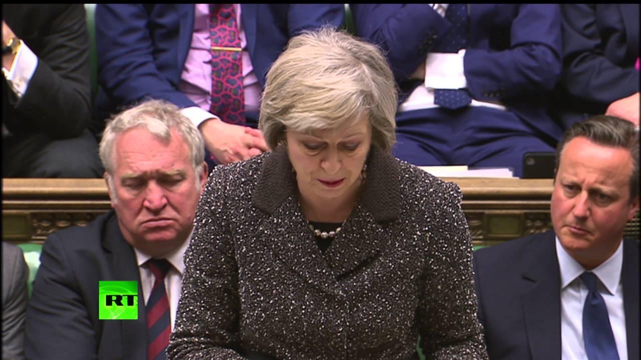 """Мејова: Или споразум са ЕУ, или излаз без споразума, или збогом """"брегзиту"""""""