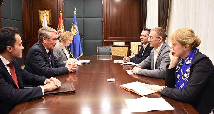 Чепурин и Стефановић разговарали о односима двеју земаља у области унутрашњих послова