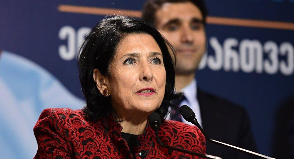 Саломе Зурабишвили нови председник Грузије