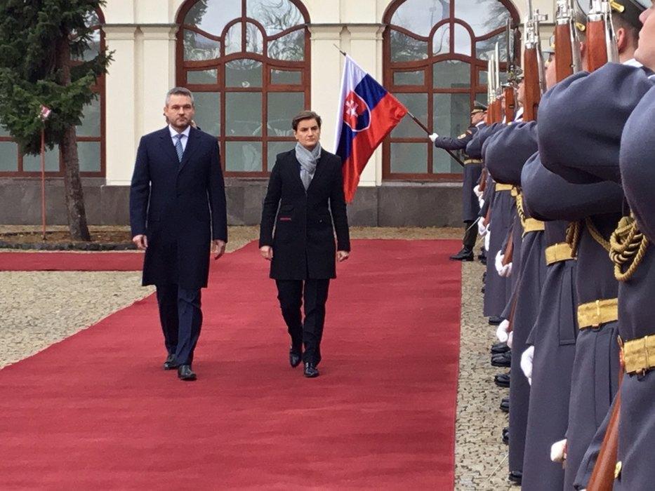 Словачка: Снажно подржавамо територијални интегритет Србије