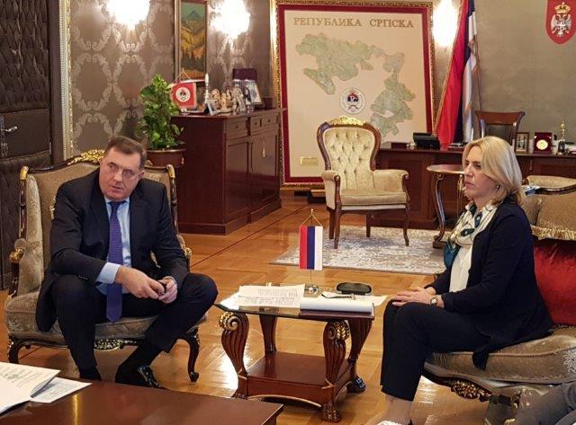 """Додик: формирање """"војске Косова"""" директно угрожен Анекс један Б Дејтонског споразума"""