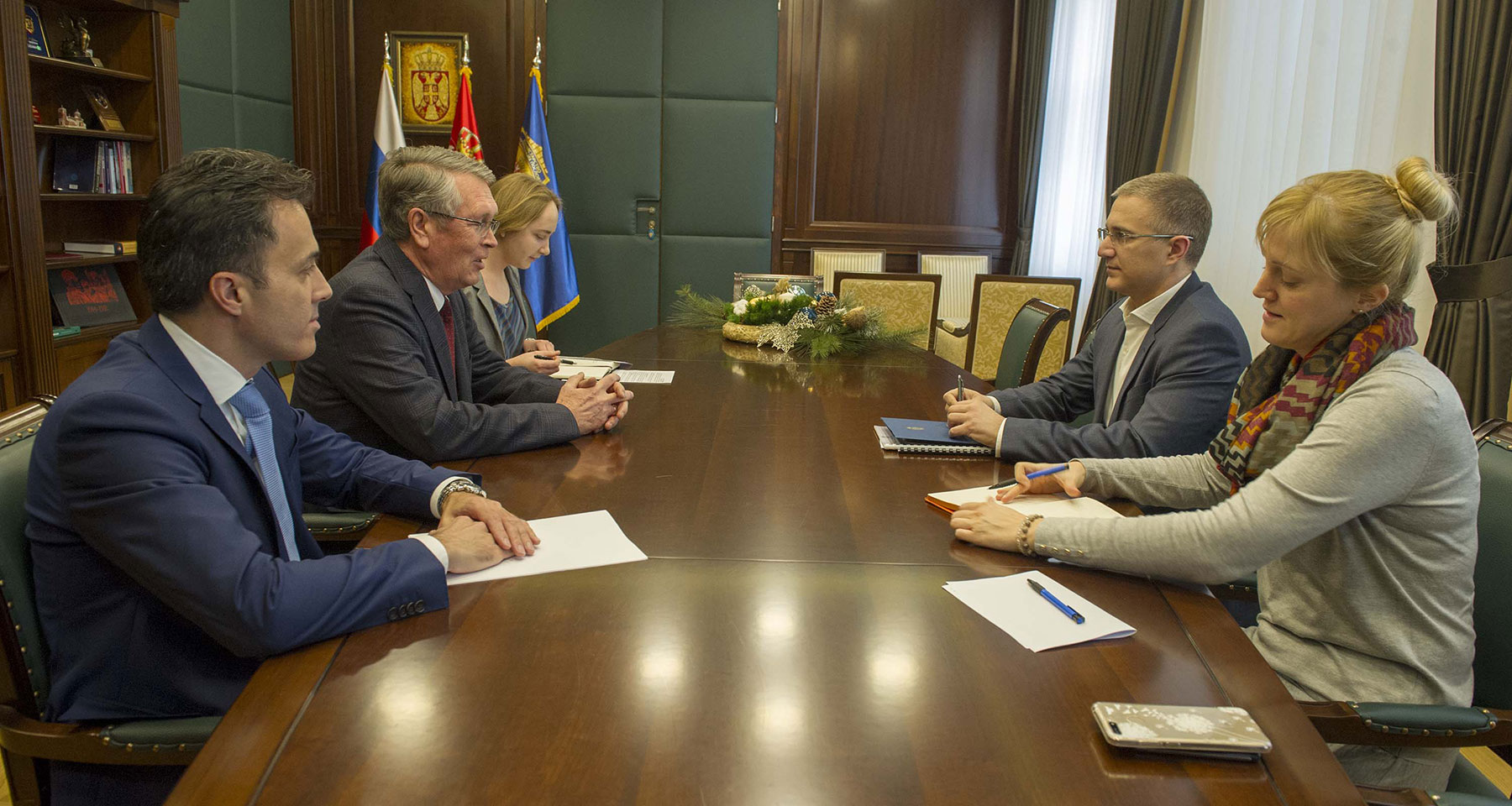 Čepurin i Stefanović razgovarali o nastavku saradnje policija dveju zemalja