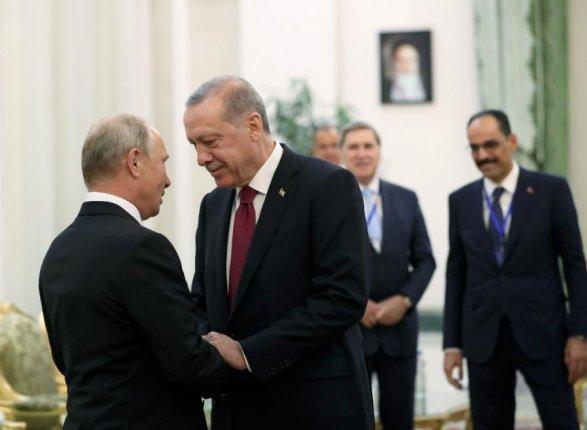 Путин и Ердоган ће у Москви разговарати о ситуацији у Сирији
