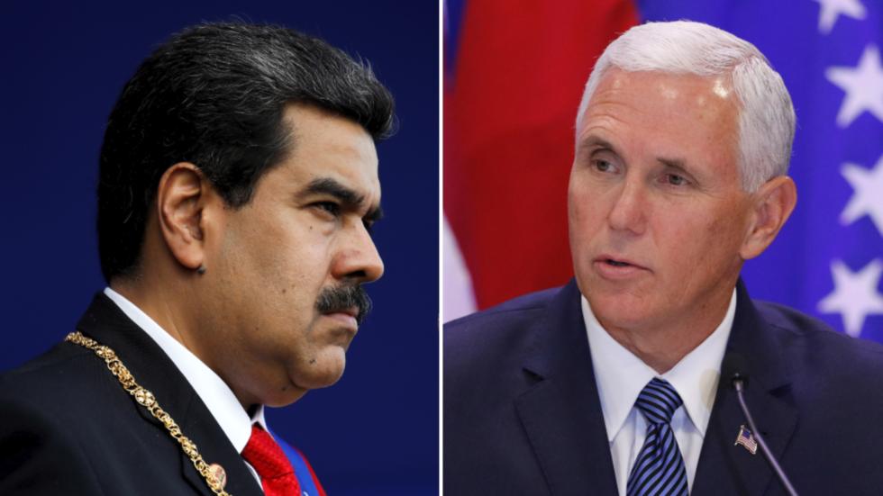 """РТ: Мадуро наредио """"потпуну ревизију"""" односа сад САД након што је Пенс позвао на свргавање власти"""