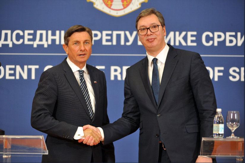 Вучић: Србија Словенију доживљава као искреног пријатеља