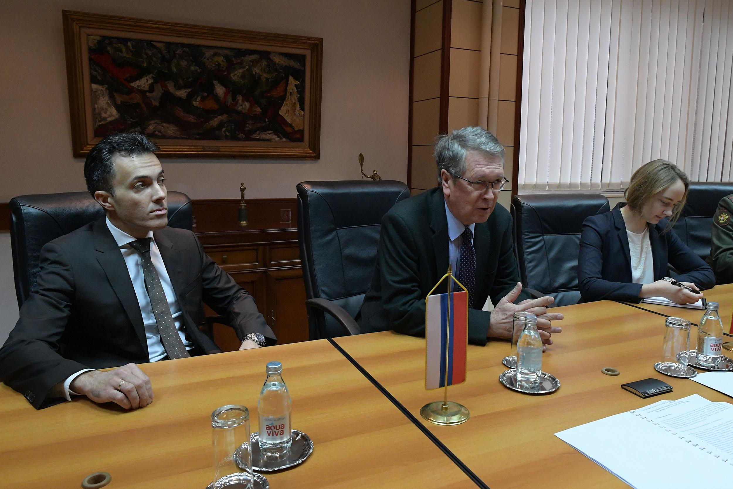 Доследна подршка позицији Србије у СБ УН-у кад год је њен интерес угрожен