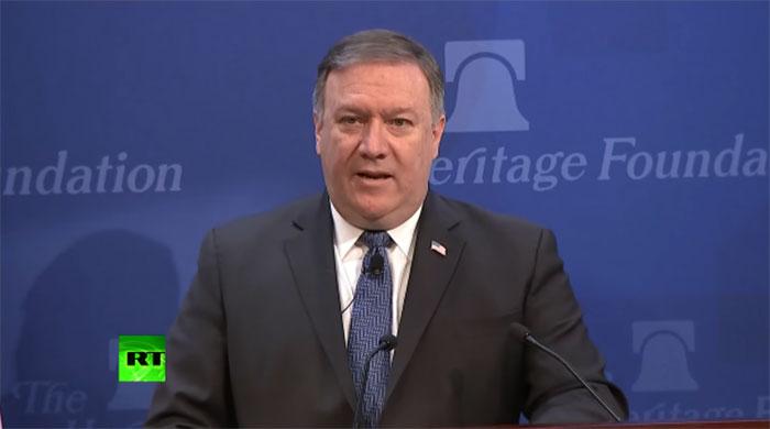 Помпео: САД неће дозволити Русији да постане главни спољни играч на Блиском истоку