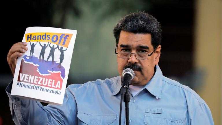 """РТ: """"Вашингтон спреман да пошаље своје синове да погину у апсурдном рату"""" - отворено писмо Мадура народу САД"""