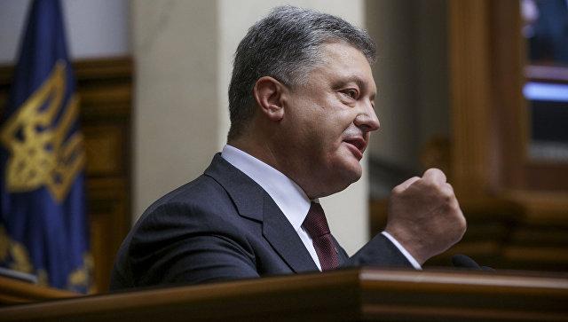 Порошенко: Украјина треба да се придружи ЕУ и НАТО-у како би се заштитила од експанзионистичких акција Русије