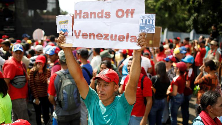 """РТ: Венецуела избацила из земље """"интервенционистичку"""" делегацију ЕУ из земље која је дошла да се састане с Гваидом"""