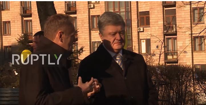 Porošenko: Majdan ću pamtiti čitavog života