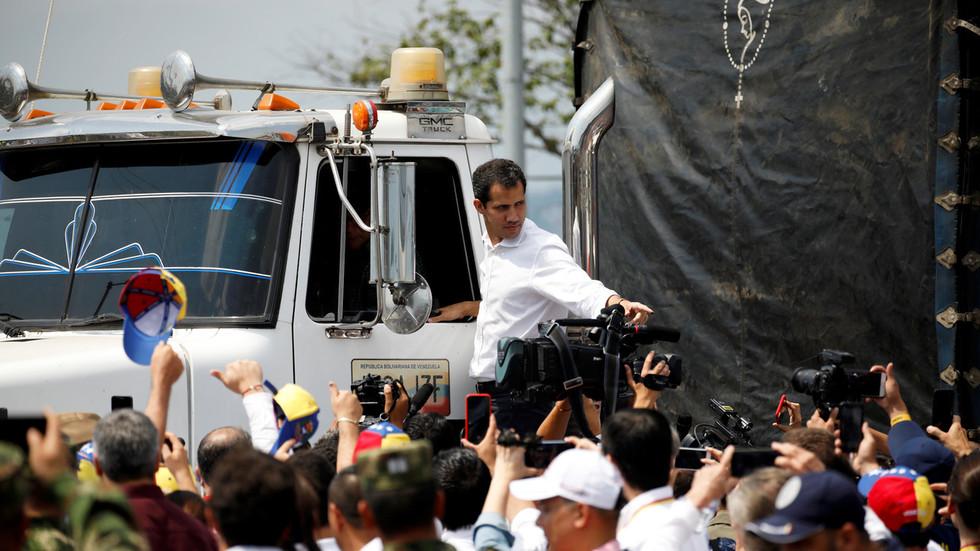 РТ: Све опције на столу? Гваидо ће се састати са Пенцом и формално тражи помоћ за рушење Мадура