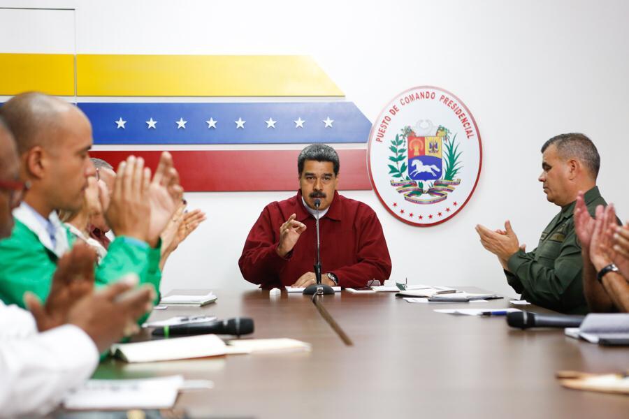Све дипломате САД напустиле Венецуелу
