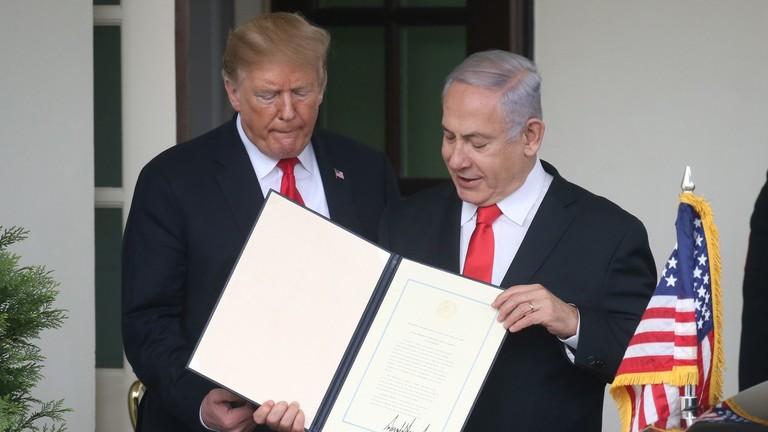 РТ: Трампов Голански поклон Израелу осуђен од стране УН-а, заливских и европских савезника