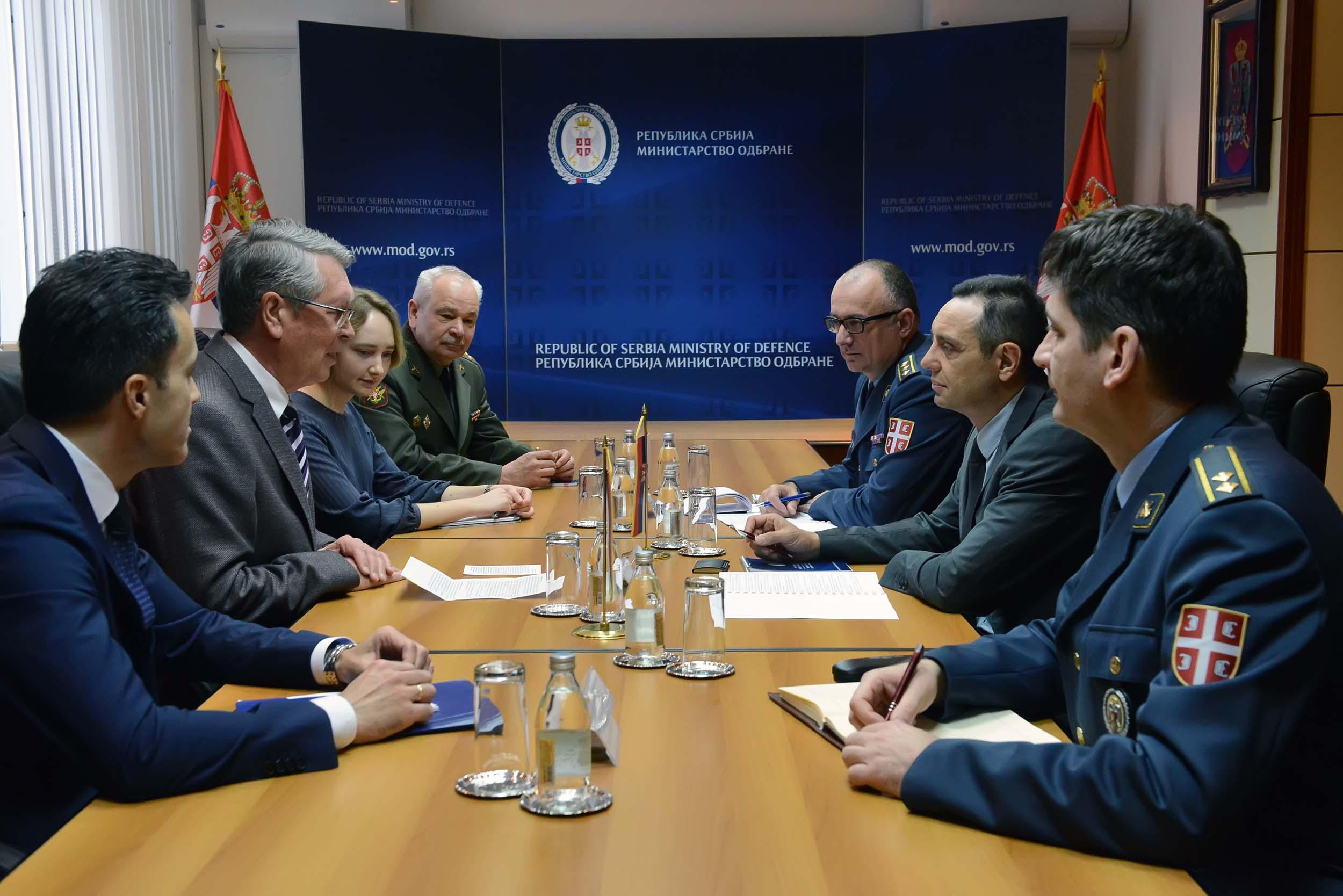 Остварен велики напредак у војнотехничкој сарадњи Русије и Србије