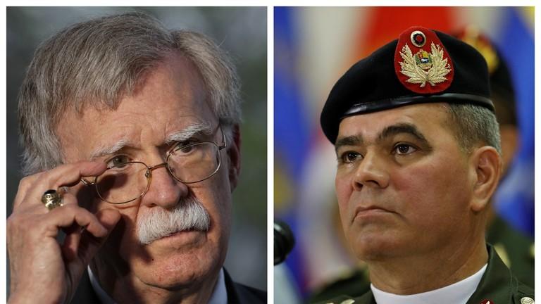 РТ: Урадите праву ствар? Министар одбране Венецуеле реаговао на Болтонов позив на дезертерство