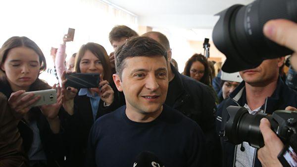 Комичар освојио највише гласова на изборима у Украјини