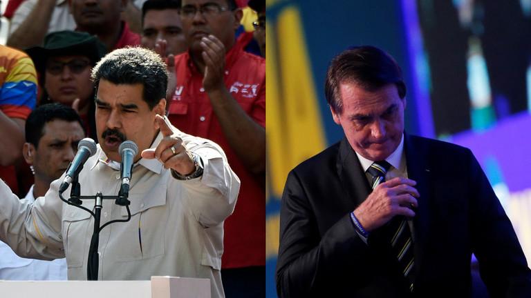 """РТ: Мадуро поручио бразилској војсци да се одупре наређењима """"фашистичког новајлије"""" да војно интервенише у Венецуели"""