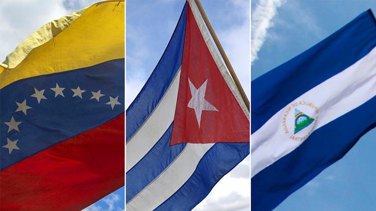 """РТ: """"Тројка тираније"""" - Болтон напао Венецуелу, Кубу и Никарагву"""