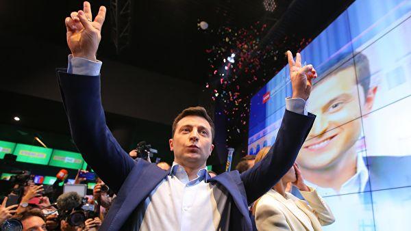 Комичар Зеленски нови председник Украјине