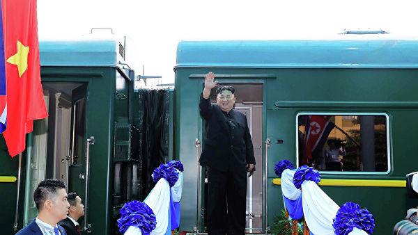 Оклопни воз Ким Џонг Уна сутра стиже у Владивосток
