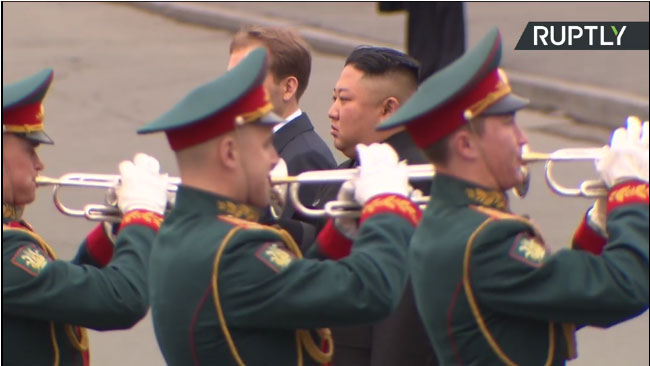 Ким Џонг УН стигао у Владивосток