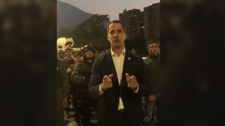 РТ: Гваидо позвано на војни удар у Венецели