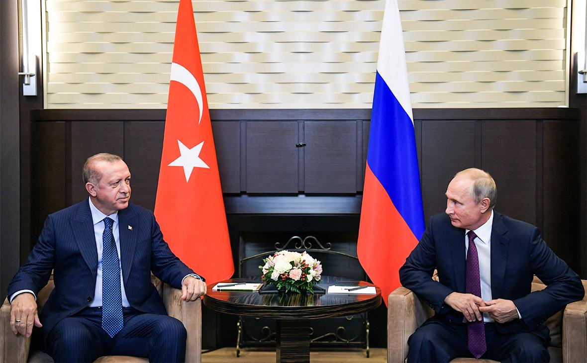 Путин и Ердоган разговарали о ситуацији у Сирији и Либији