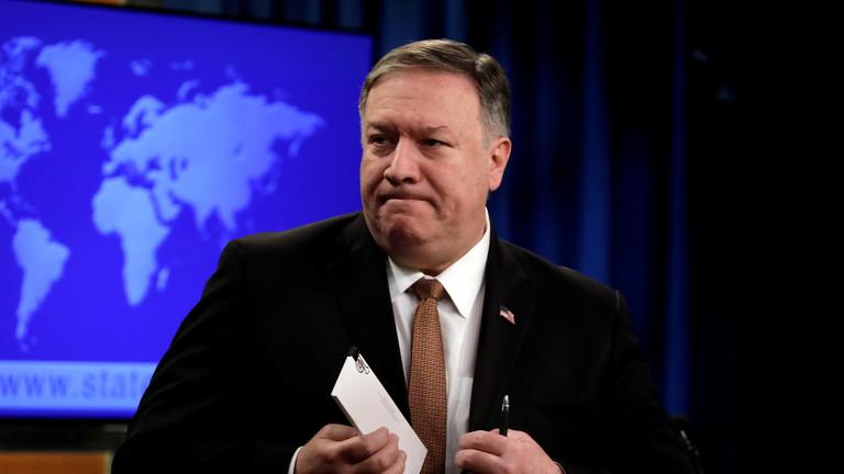 """РТ: """"Свака акција САД-а у Венецуели била би законита"""": Помпео призива инвазију након неуспелог војног удара"""