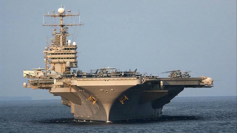 """РТ: САД шаљу ударну групу бродова да пошаљу """"поруку"""" Ирану - Болтон"""