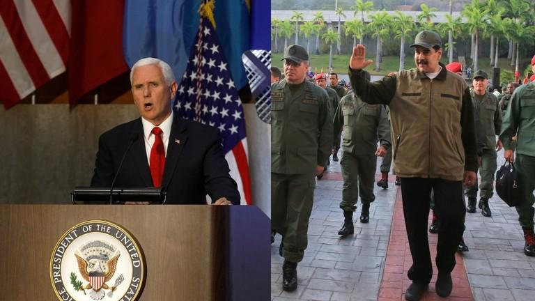 РТ: Пенс укинуо санкције венецуелском генералу-дезертеру, надајући се да ће подстакнути масовну издају