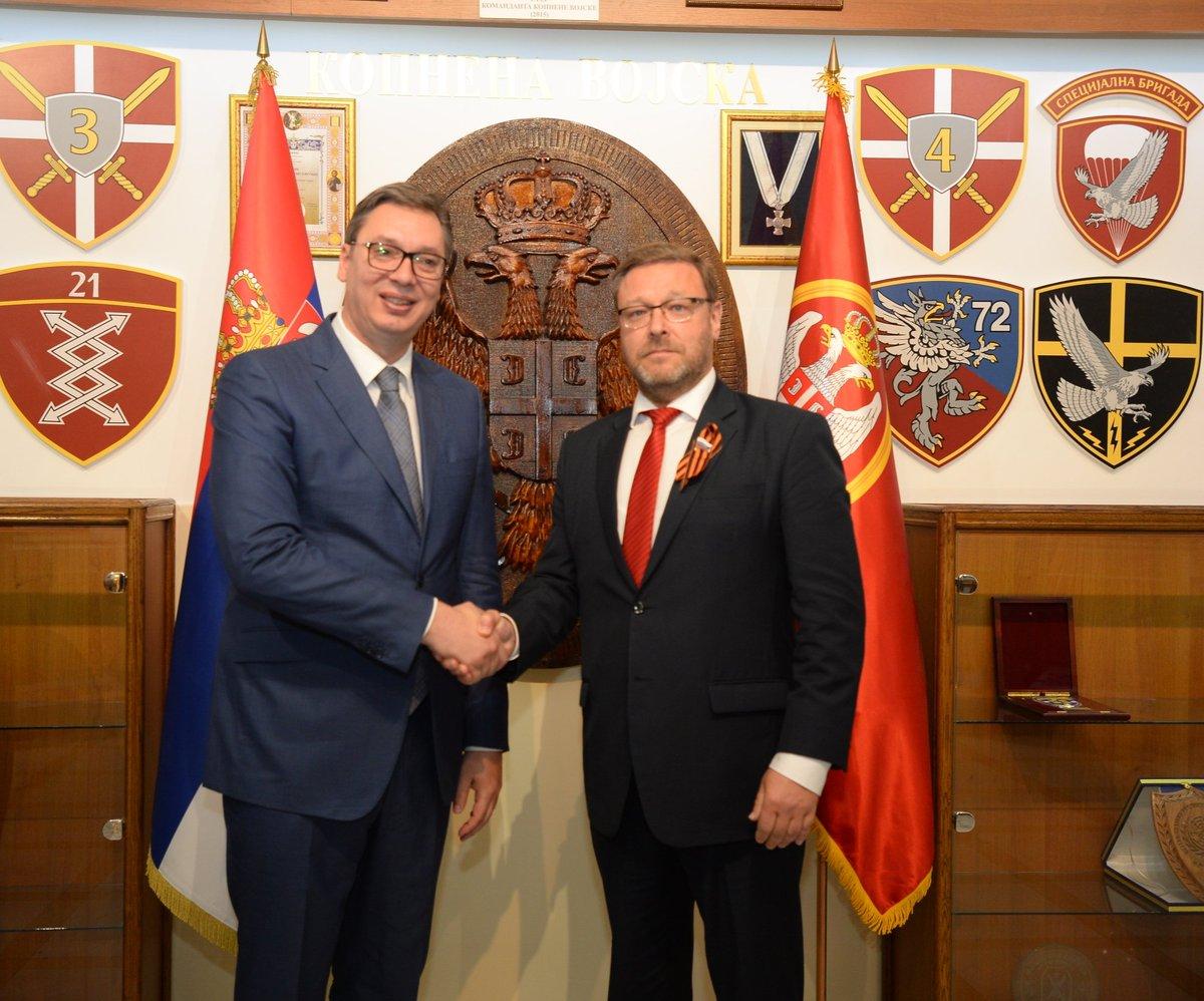 Чврста и доследна политика подршке Русије територијалном интегритету и суверенитету Србије