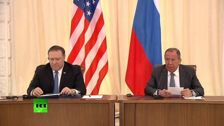 РТ: Лавров и Помпео се сложили да раде на контроли нуклеарног наоружања, али супротвни ставови о Венецуели