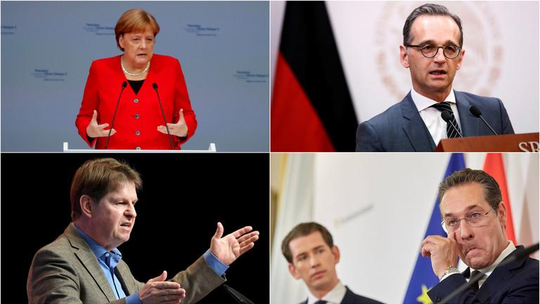 """РТ: """"Непријатељи слободе?"""" Немачка покреће крсташки рат против деснице усред кризе аустријске владе"""
