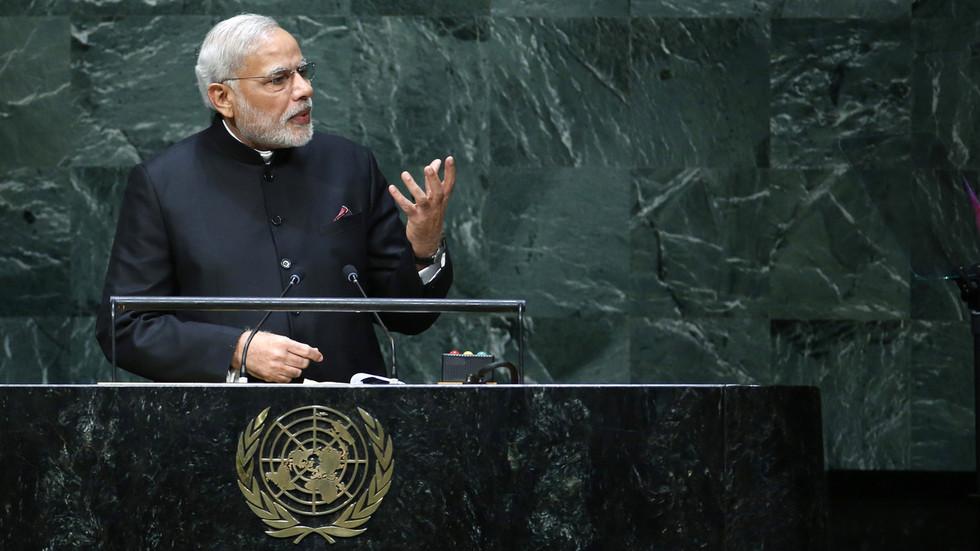"""РТ: """"Свету је потребна Индија"""": Њу Делхи тражи стално место у Савету безбедности УН-а"""