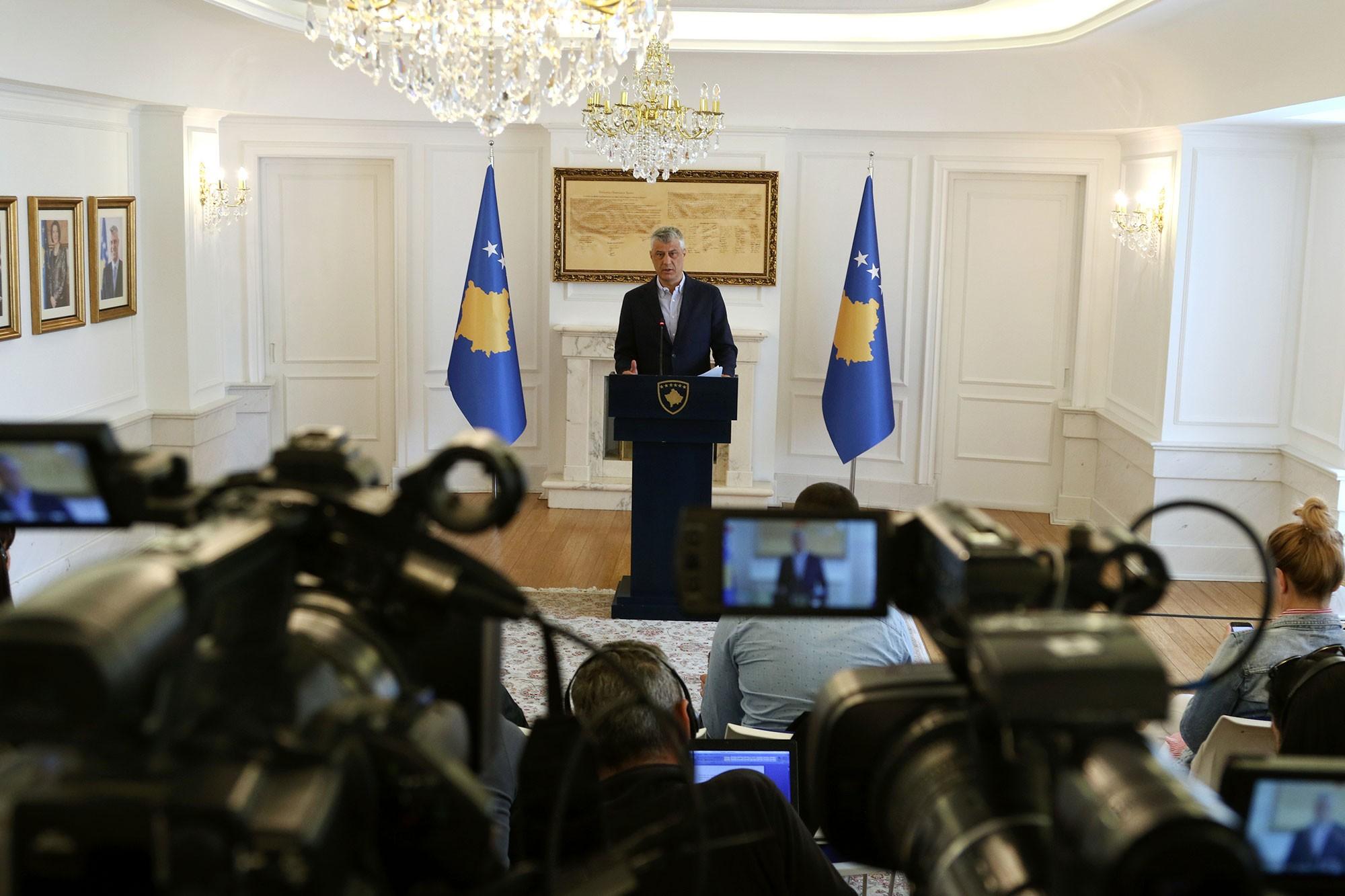 Тачи: Не можемо дозволити формирање Заједнице србских општина