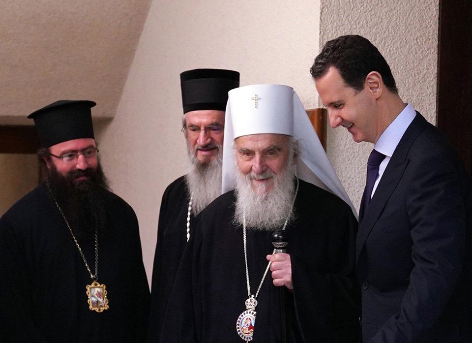 Асад: Србија и Сирија подвргнуте покушајима спољне интервенције како би се уништио суверенитет