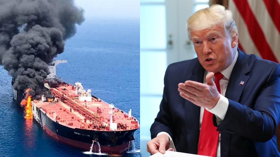 """РТ: """"Иранов потпис је свуда"""": Трамп оптужио Техеран да је извршио напад на танкере"""