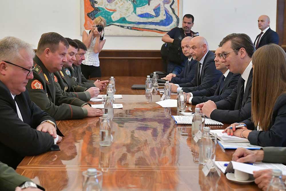 Сарадња Србије и Белорусије у области одбране достигла висок ниво
