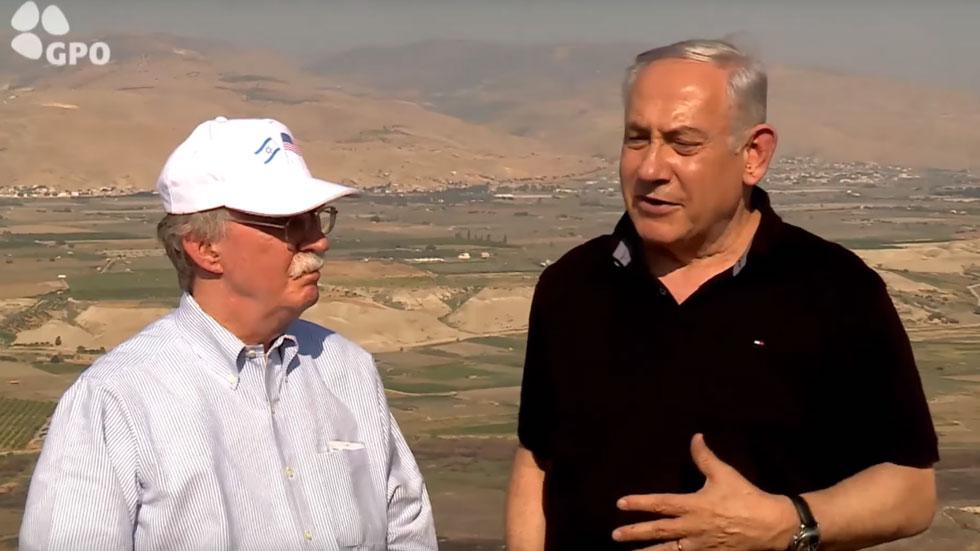 Нетанијаху Болтону: Сваки Палестински споразум мора укључивати израелско присуство у Јорданској долини