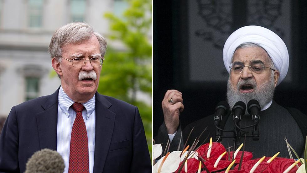 """РТ: """"Дијалог нишањењем"""": Болтон каже да је """"ћутање"""" Ирана заглушујуће, док је заправо прилично гласно"""