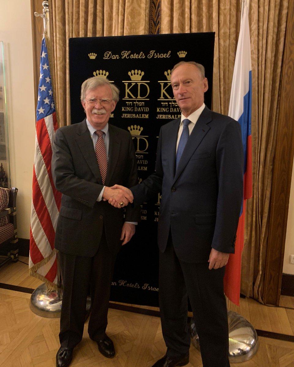 Болтон: Разговарали смо о Украјини, контроли наоружања, Венецуели и другим питањима