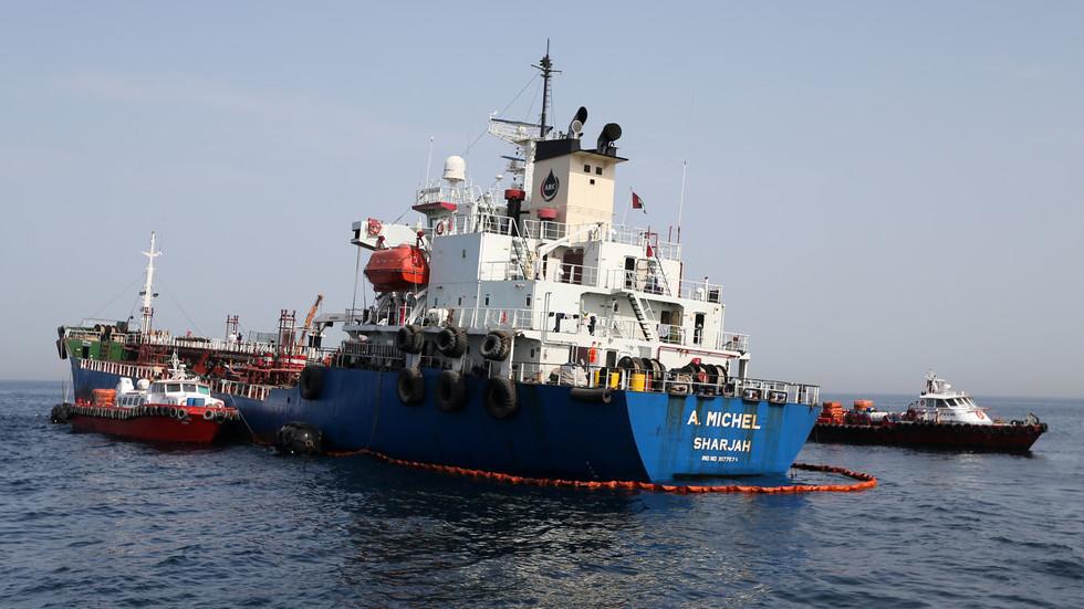 РТ: УАЕ одбијају да оптужуе било коју земљу за нападе на танкере без доказа, док САД указују на Иран